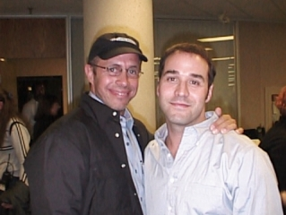 John Henley's website gallery, Peter Chelsom and Jeremy Piven