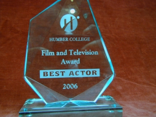 John Henley's website gallery: Humbie Best Actor Award