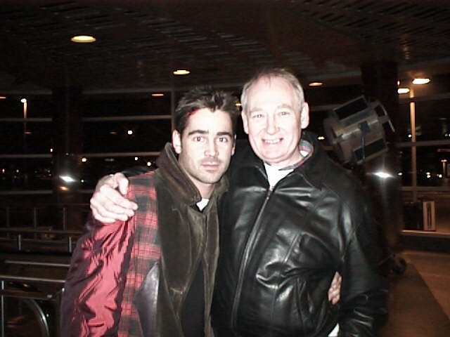 John Henley's website gallery, Colin Farrell and John Henley