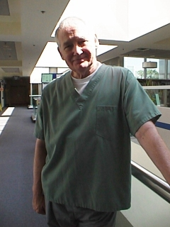 John Henley,Wardrobe: Hospital orderly
