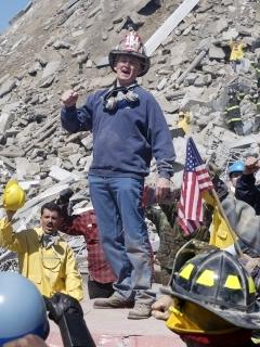 John Henley,Wardrobe: Firefighter