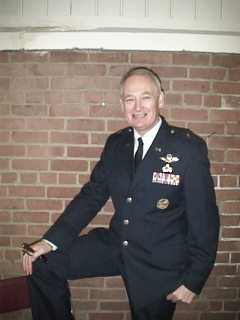 John Henley,Wardrobe:Air Force General