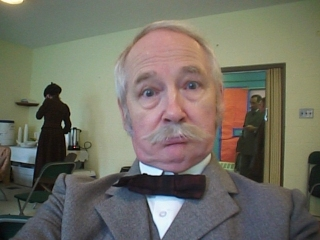 John Henley,Wardrobe: 19th century, with moustache
