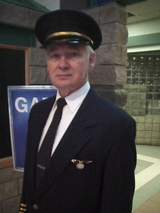 John Henley,Wardrobe: Airline Pilot