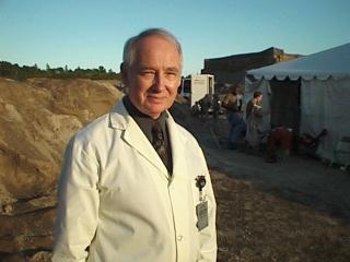 John Henley,Wardrobe: Lab scientist