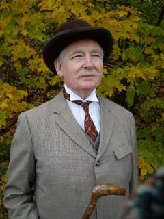 John Henley,Wardrobe: victorian-gentleman