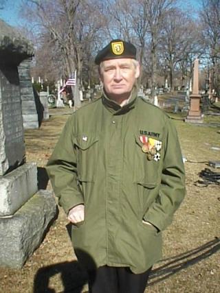 John Henley,Wardrobe: American War Veteran