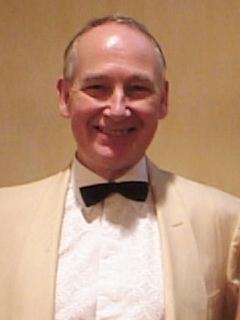 John Henley,Wardrobe: White dinner jacket